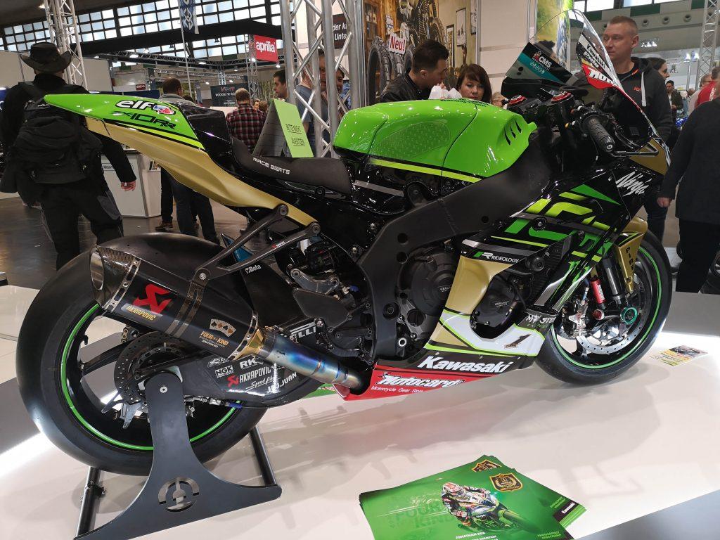 Grünes Kawasaki