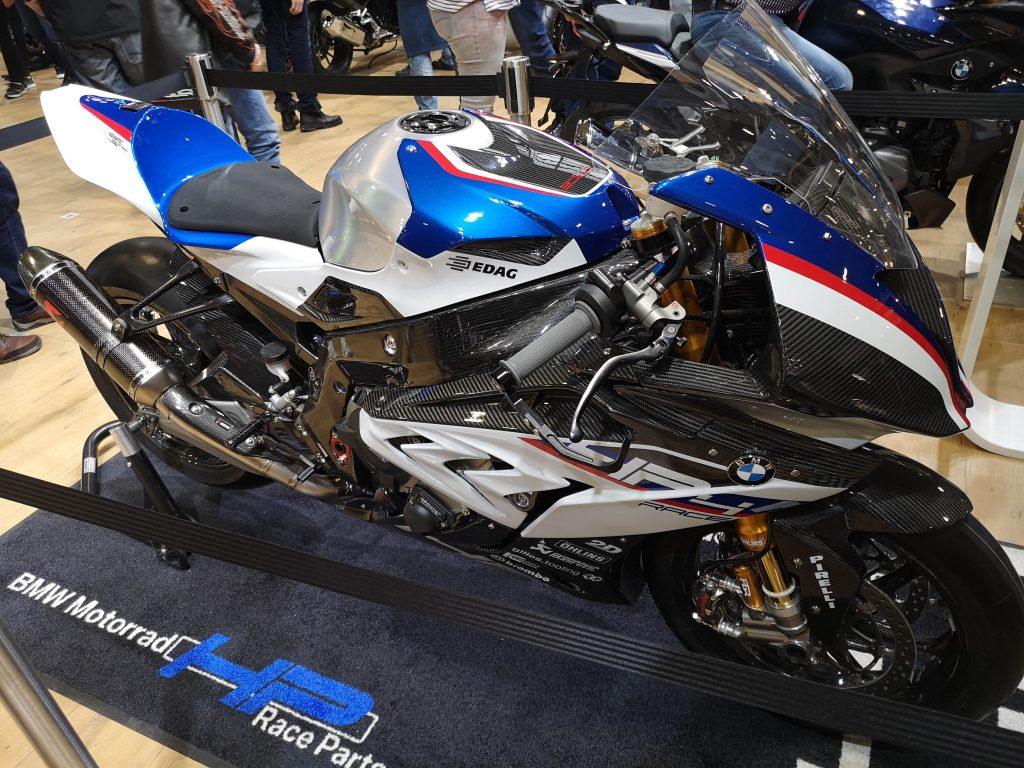 Blaue BMW S1000RR